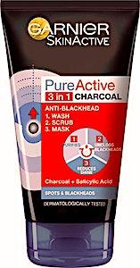 Garnier Pure Active 3 in 1 Charcoal 150 ml