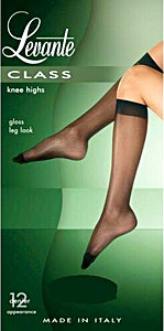 Levante Class 12 Knee Highs Socks Antracite 1