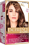L'Oreal Excellence Hair Protection Crème Light Golden Brown no.5.3