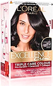 L'Oreal Excellence Hair Protection Crème Black no.1