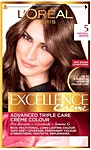 L'Oreal Excellence Hair Protection Crème Light Brown no.5