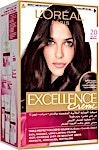 L'Oreal Excellence Hair Protection Crème Deep Black no.2.0