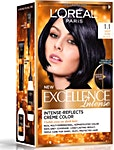 L'Oreal Excellence Hair Protection Intense Deep Pure Black no.1.1