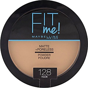 Maybelline Fit Me Matte & Poreless Powder Nude no.128