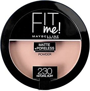 Maybelline Fit Me Matte & Poreless Powder Natural Buff no.230