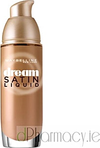 Maybelline Dream Satin Liquid Foundation Serum Light Honey no.45