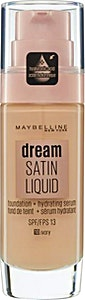 Maybelline Dream Satin Liquid Foundation Serum Ivory no.10