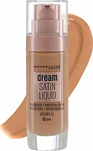 Maybelline Dream Satin Liquid Foundation Serum Fawn no.40