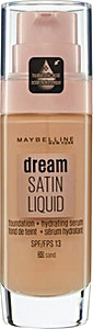 Maybelline Dream Satin Liquid Foundation Serum Sand no.30