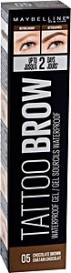 Maybelline Tattoo Brow Waterproof Gel Chocolate Brown no.05