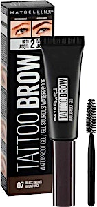 Maybelline Tattoo Brow Waterproof Gel Black Brown no.07