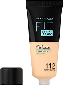 Maybelline Fit Me Liquid Foundation Soft Beige no.112