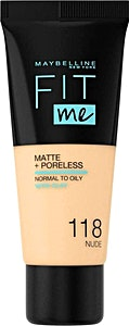 Maybelline Fit Me Liquid Foundation Nude no.118