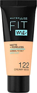 Maybelline Fit Me Liquid Foundation creamy Beige no.122