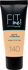 Maybelline Fit Me Liquid Foundation Cool Medium no.140