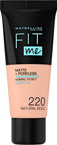 Maybelline Fit Me Liquid Foundation Natural Beige no.220
