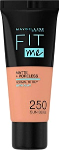 Maybelline Fit Me Liquid Foundation Sun Beige no.250