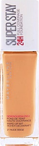 Maybelline Super Stay Foundation Nude Beige no.21