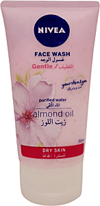 Nivea Face Wash Dry Skin With Almond Oil 150 ml