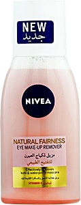 Nivea Natural Fairness WaterProof Eye Make-Up Remover 125 ml