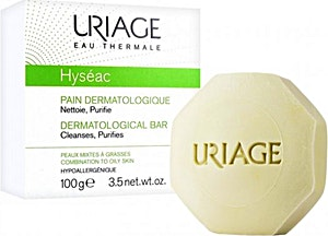 Uriage Hyseac Dermatological Bar 100 g