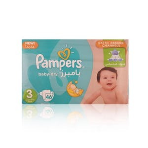 Pampers Midi 3 46's