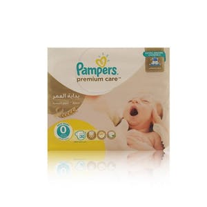 Pampers Premium Care 0 30's