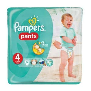Pampers Pants 4 24's