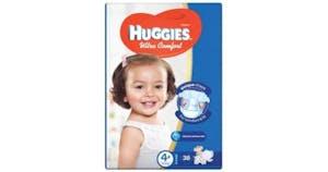 Huggies Ultra Comfort 4+ (10-16kg) 38's