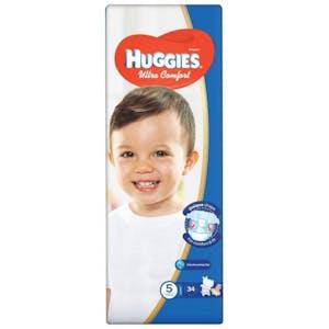 Huggies Ultra Comfort 5 (12-17kg) 34's
