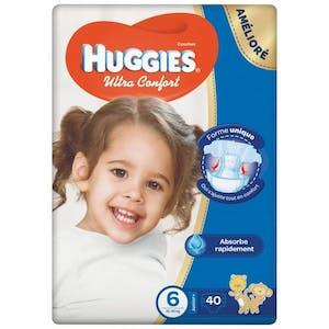 Huggies Ultra Comfort 6 (15-25kg) 32's