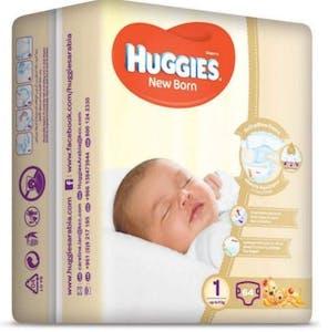 Huggies New Born 1 (5 kg) 64's