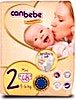 Canbebe Diapers Size 2  68's