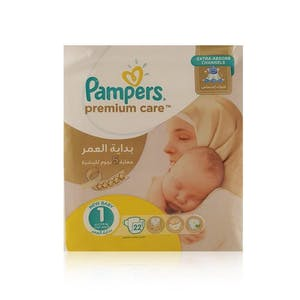 Pampers Premium Care 1 22's