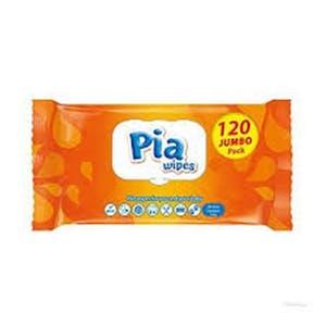 Pia Wipes 120 's