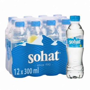 Sohat Water Pack 12 x 0.33 L