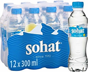 Sohat Water 0.33 L - Pack of 12