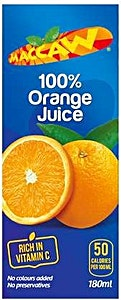 Maccaw Orange Juice 200 ml
