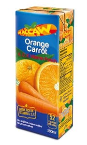 Maccaw Orange & Carrot Vitamin Punch 200 ml