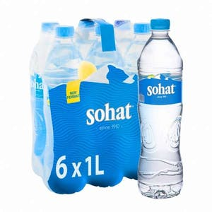 Sohat Water Pack 6 x 1 L