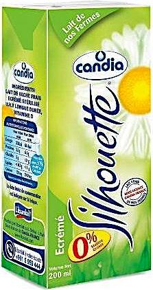 Candia UHT Milk Silhouette 1 L