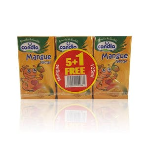 Candia Nectar Mango 125 ml - Pack of 6