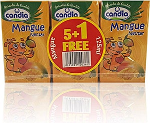Candia Mango 125 ml - Pack of 6