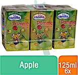 Candia Apple 125 ml - Pack of 6