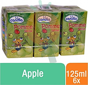 Candia Nectar Apple 125 ml - Pack of 6