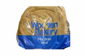 Wooden Bakery Pita Brown Big 700 g