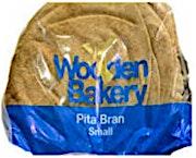 Wooden Bakery Pita Brown Big 700 g