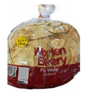 Wooden Bakery Pita White Medium 400 g