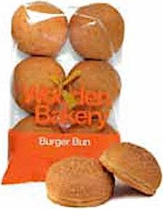 Wooden Bakery Burger Bun 420 g