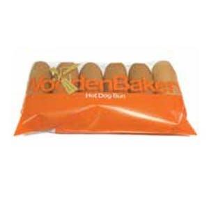 Wooden Bakery Hot Dog Bun 350 g